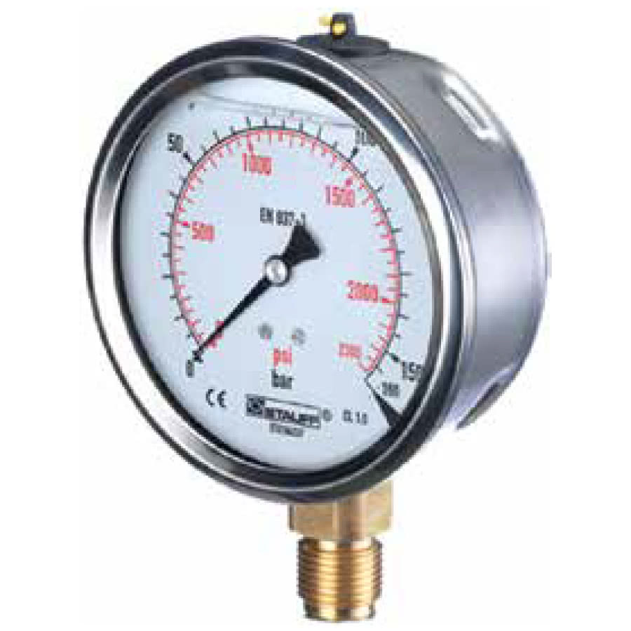 Pressure Gauges (Analogue & Digital) & Pipes