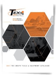 Tex Onsite Catalogue Cover